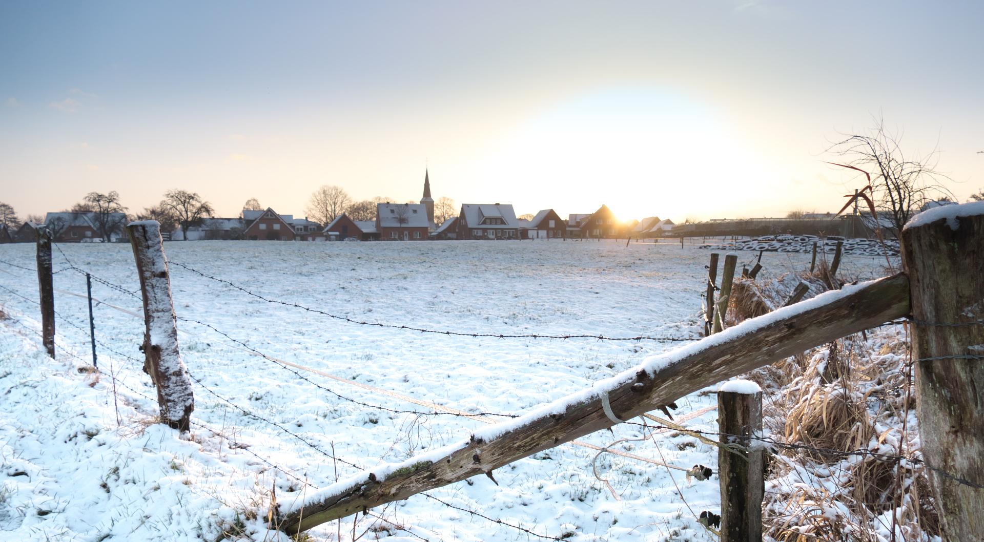Winter - Asbeck Sonnenaufgang