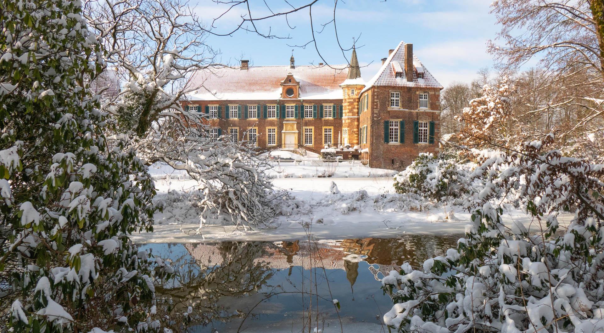 Egelborg - Innenhof im Winter