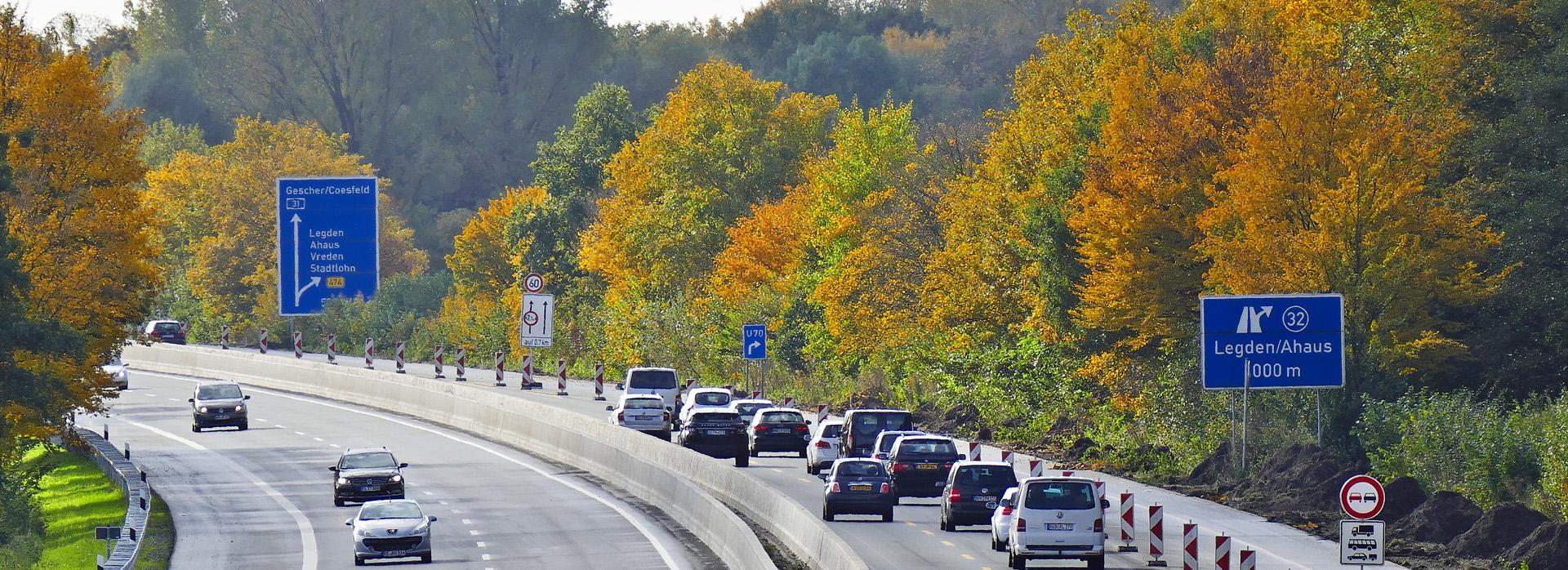 Autobahn A 31, Ausfahrt Legden