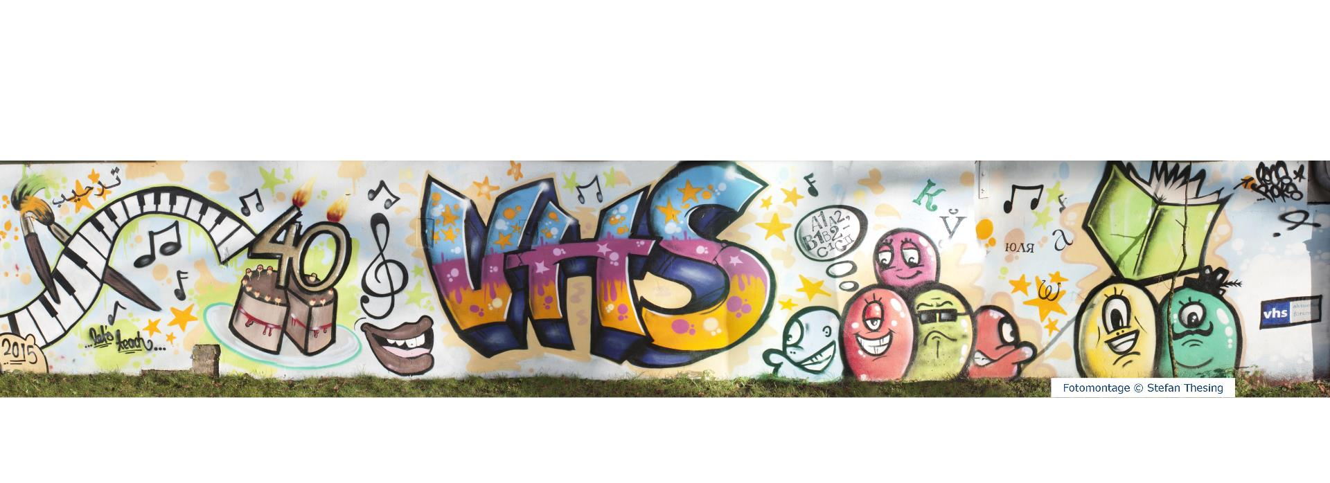 Graffiti 40. Geburtstag vhs