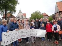 Reszel - Besucherempfang in Asbeck